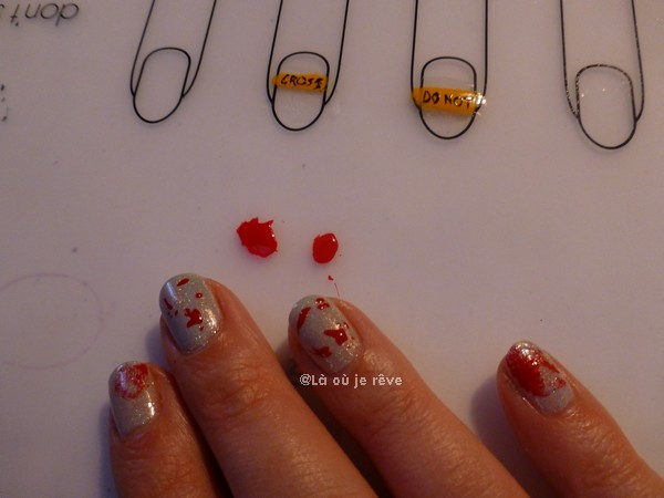 Halloween nails - Là où je rêve